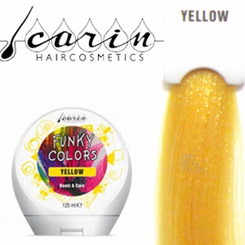 CARIN FUNKY COLORS YELLOW - 125 ML
