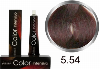 Carin Color Intensivo No. 5.54 light brown mahogany copper