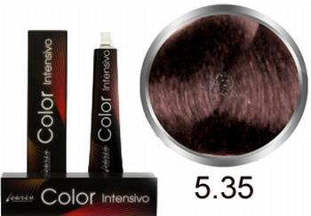 Carin  Color Intensivo nr  5,35 lichtbruin goud mahonie