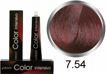 Carin  Color Intensivo nr  7,54 middenblond mahonie koper
