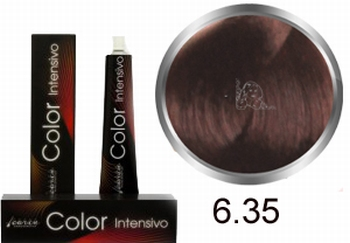 Carin  Color Intensivo nr 6,35 donkerblond goud mahonie