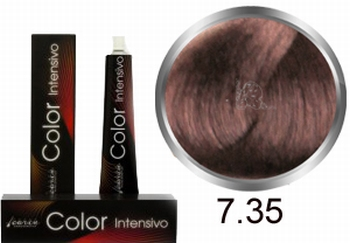Carin Color Intensivo No. 7.35 middle blonde gold mahogany