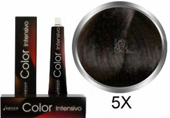 Carin  Color Intensivo nr 5x lichtbruin extra dekkend