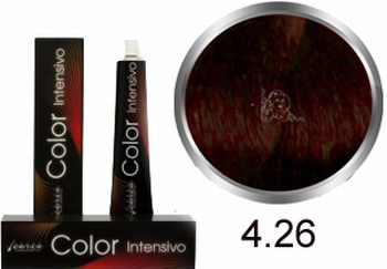 Carin  Color Intensivo nr 4,26 middenbruin violet goud