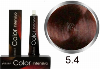 Carin  Color Intensivo nr 5,4 lichtbruin koper