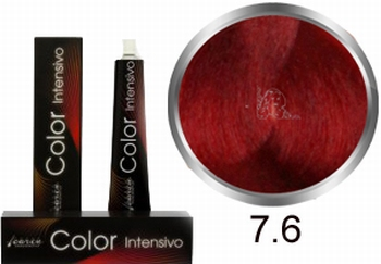Carin  Color Intensivo nr 7,6 middenblond rood