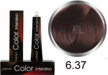 Carin  Color Intensivo nr 6,37 donkerblond goud kastanje