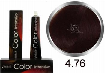 Carin  Color Intensivo nr 4,76 middenbruin kastanje rood