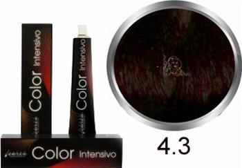 Carin  Color Intensivo nr 4,3 middenbruin goud