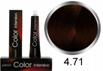 Carin  Color Intensivo nr 4,71 middenbruin kastanje as