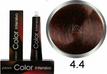 Carin  Color Intensivo nr  4,4 middenbruin koper