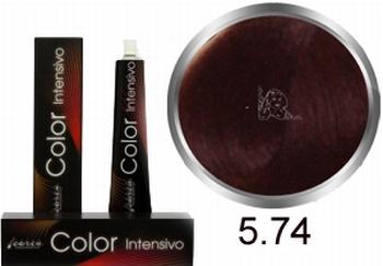 Carin  Color Intensivo nr 5,74 lichtbruin kastanje koper