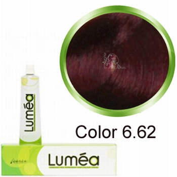 Carin  Lumea nr 6.62 - donkerblond rood violet