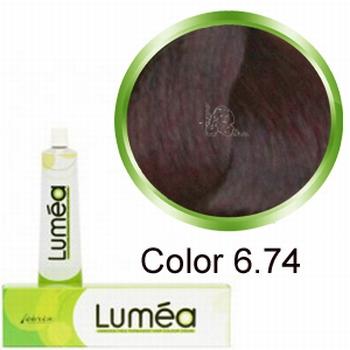 Carin  Lumea nr 6.74 - dark blonde chestnut copper