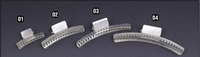 """Aluminium wave clamp, Lange: 2"""" (Bild 1)"""