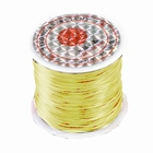 Elastic stretchy thread, 10 meter, Ø 0,8 mm., color: blond