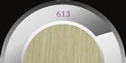Thermofibre rebound straight extensions 60 cm., kleur 613