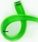 Clip-in synthetic, color: Light Green
