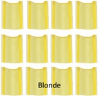 Virginlengths Keratine rebounds, U-type, Blond