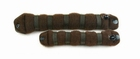 Hair Bun Roll, small, color: Brown