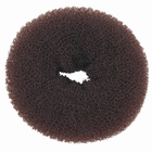 Hair Bun Ring, large, color: Brown