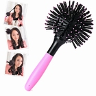 3D Round Hair Extension Detangling Brush