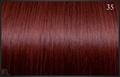 Classic Weft 50/55 cm, kleur 35 (intens rood)