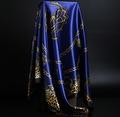 Dames Sjaal- satijn - 90 x 90 cm.