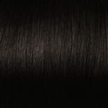 Human Hair  extensions straight 40 cm, 0,5 gram, Color: 1
