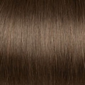 Human Hair  extensions straight 40 cm, 0,5 gram, Color: 6