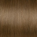 Human Hair extensions straight 50 cm, 0,5 gram, kleur: 12