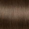 Human Hair extensions straight 50 cm, 0,5 gram, kleur: 6