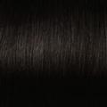 Human Hair extensions straight 50 cm, 0,8 gram, kleur: 1