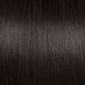 Human Hair extensions straight 60 cm, 1,0 gram, kleur: 2