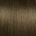 Human Hair extensions wavy 50 cm, 0,8 gram, Color: 8