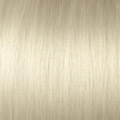 Human Hair  extensions straight 40 cm, 0,5 gram, Co: 1001ASH