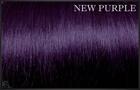EuroSo.Cap Crazy color extensions, 50-55 cm.-New Purple