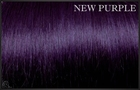 EuroSo.Cap Crazy color extensions, 50-55 cm.-New Purple