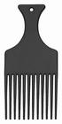 Afro Black Comb