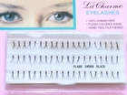 Eyelash extensions, Type Flare Under Black, 14 mm.