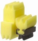 Perm sponge with holder
