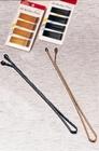 Roller pins hairgrips, Kleur: Brons