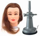 Practice head  BROWN with table stand (vacuum)