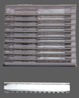Spare blades for hair razor VL2013-*1197