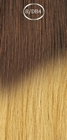 Shatush extensions, long: 50 cm. color 8/DB4