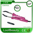 Hairextensions Iron Control temperatur, color: Pink