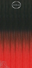 Shatush extensions, long: 50 cm. color 1B/ROSSO