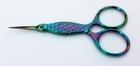 Kleine Schere-Multicolor Fisch-Design