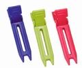 Nylon 2-prong clip assortiment color
