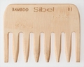 Antistatique Bamboo Comb